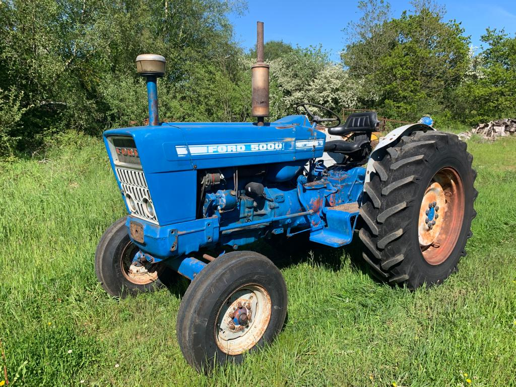 FORD 5000 TRACTOR JUNE 21